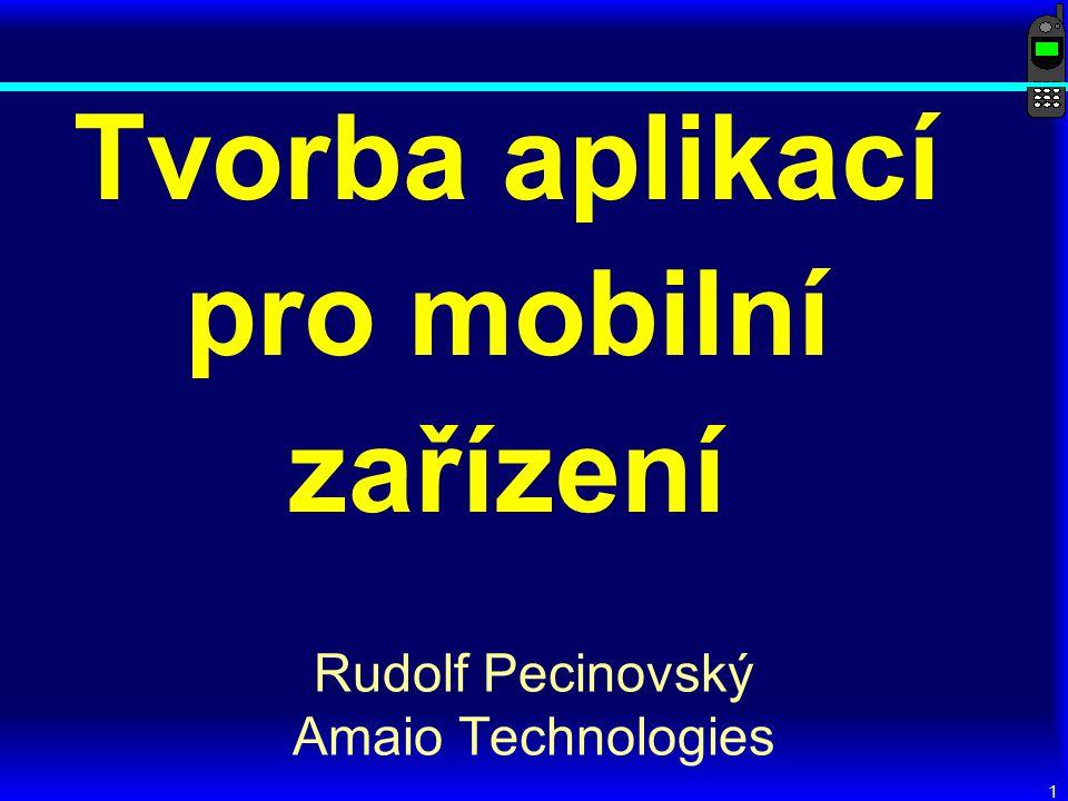 Tvorba aplikací pro mobilní zařízení