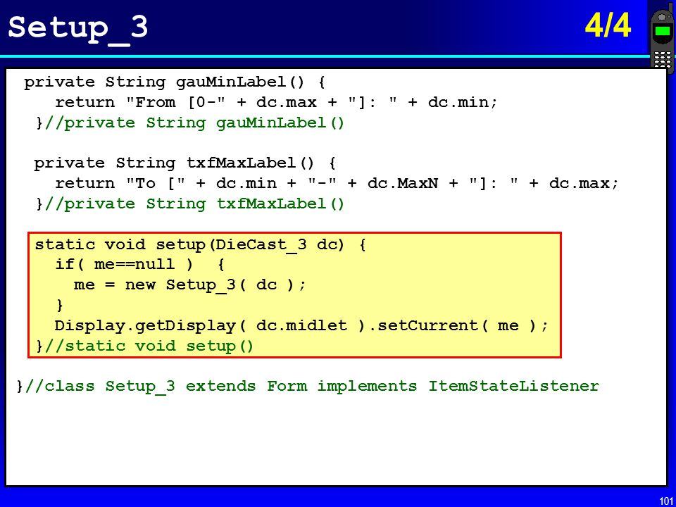 Setup_3 4/4 private String gauMinLabel() {
