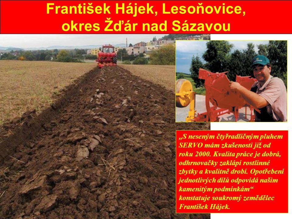 František Hájek, Lesoňovice,