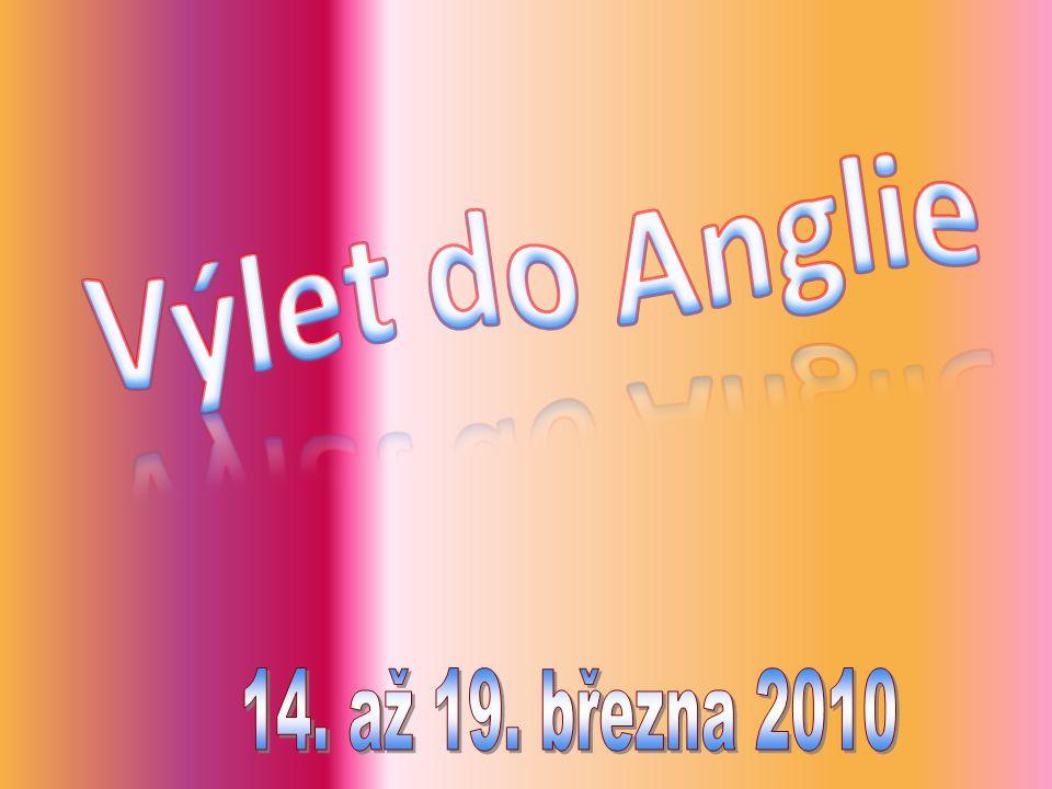 Výlet do Anglie 14. až 19. března 2010