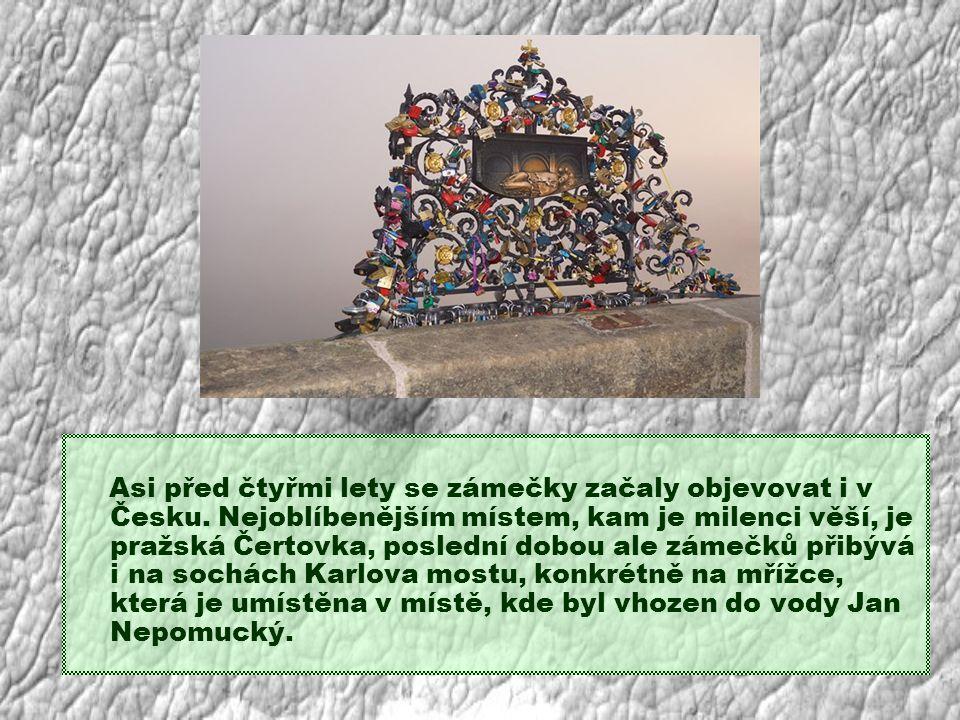 Asi před čtyřmi lety se zámečky začaly objevovat i v Česku