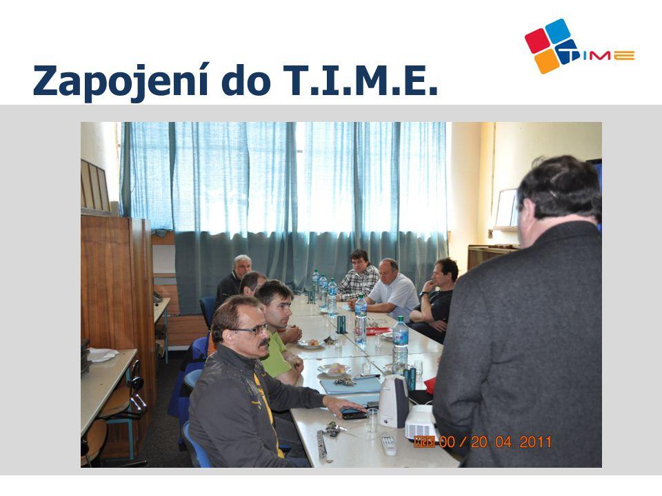 Zapojení do T.I.M.E.