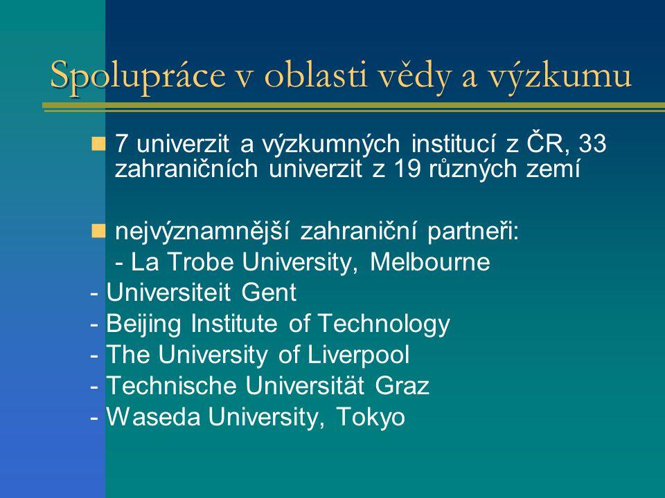 Spolupráce v oblasti vědy a výzkumu