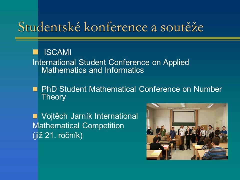 Studentské konference a soutěže