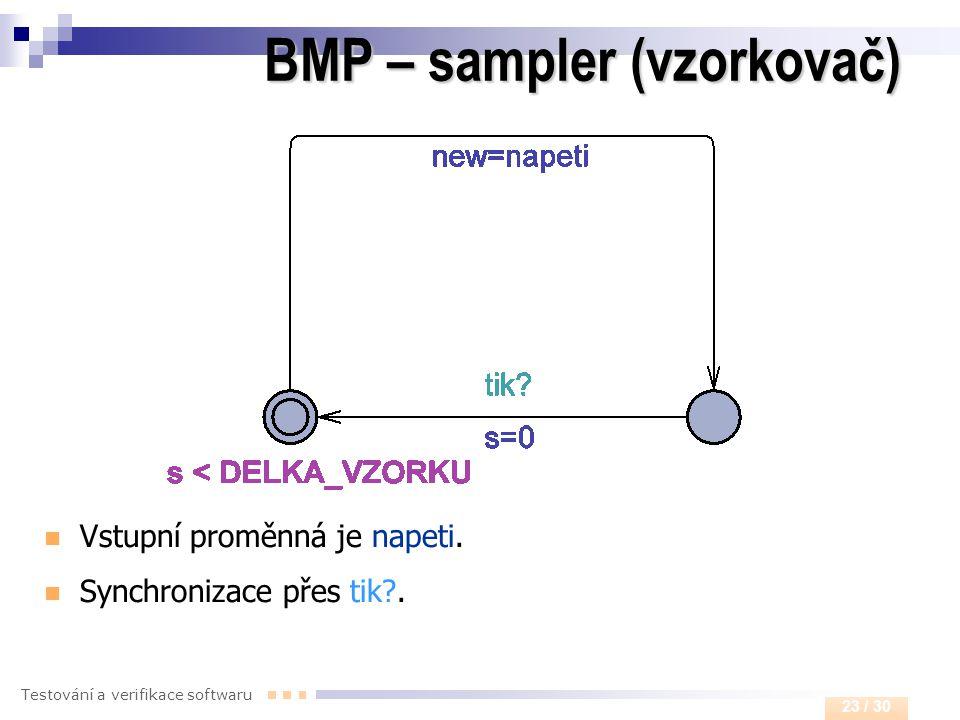 BMP – sampler (vzorkovač)