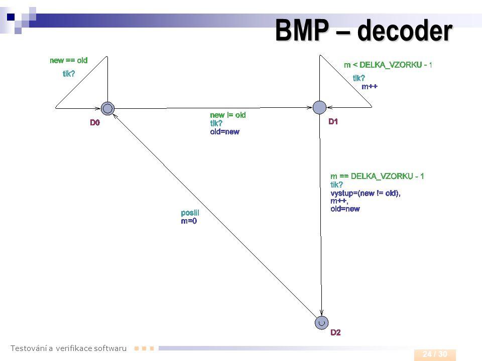 BMP – decoder