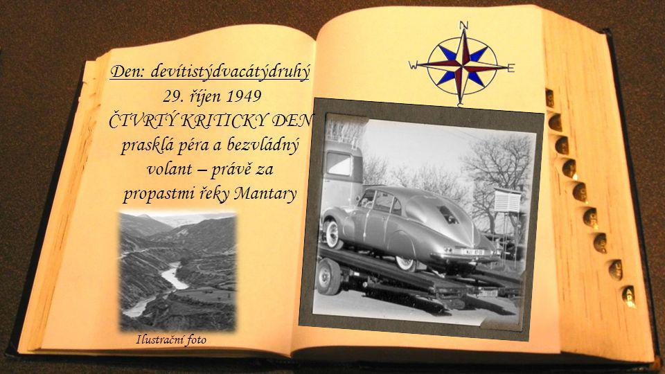 Den: devítistýdvacátýdruhý 29. říjen 1949