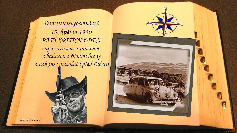 Den:tisícistýosmnáctý 13. květen 1950
