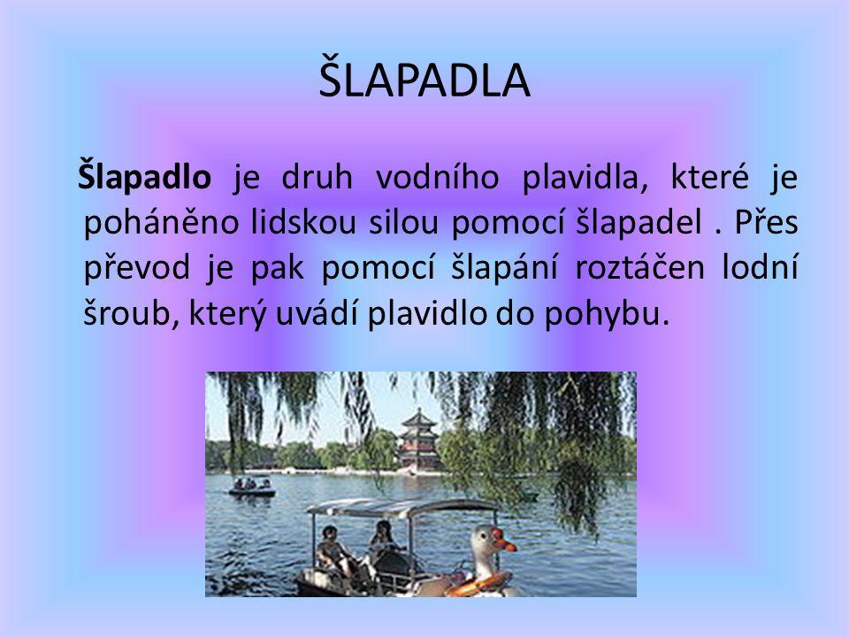 ŠLAPADLA