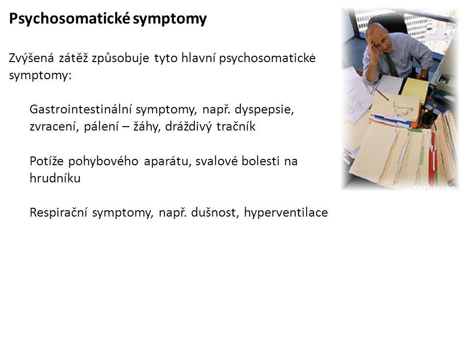 Psychosomatické symptomy