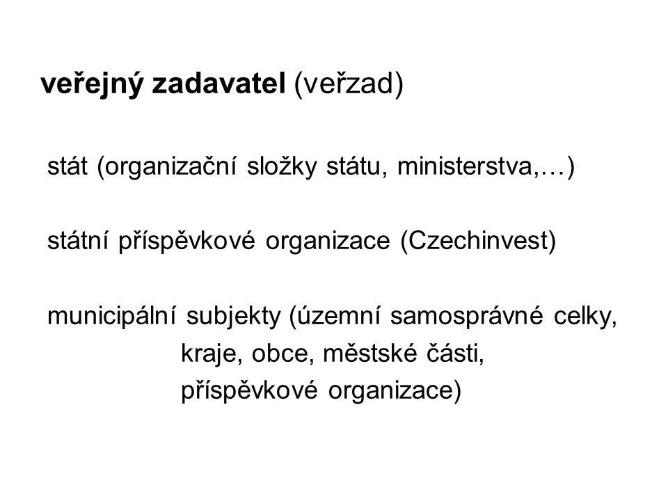 veřejný zadavatel (veřzad)