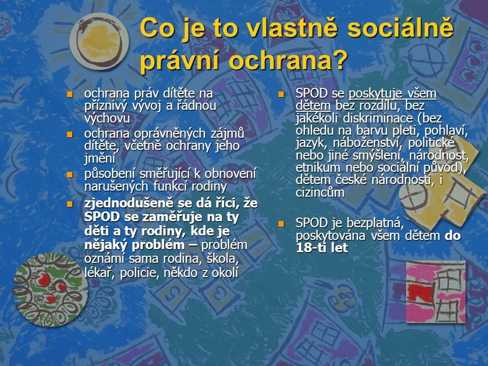 Co je to vlastně sociálně právní ochrana