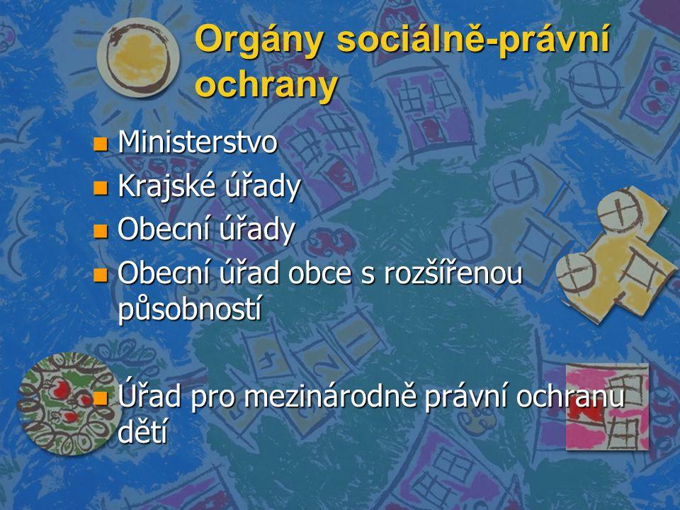 Orgány sociálně-právní ochrany