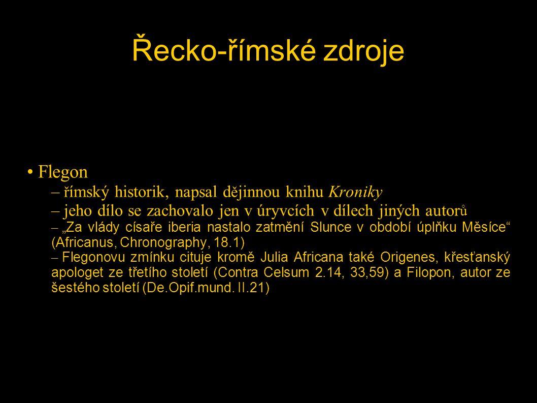 Řecko-římské zdroje Flegon