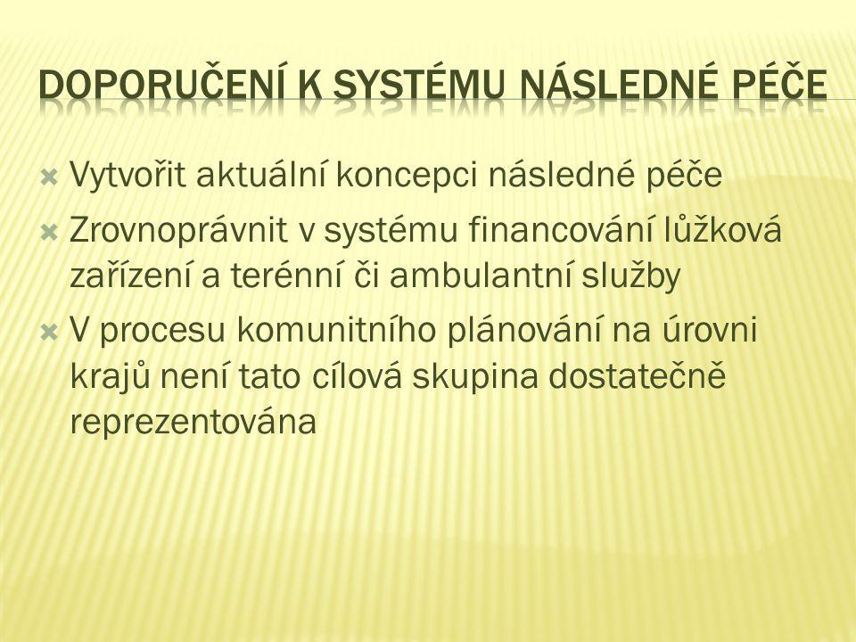 Doporučení k systému následné péče
