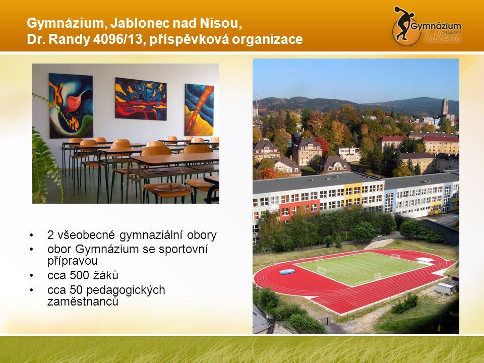 Gymnázium, Jablonec nad Nisou, Dr