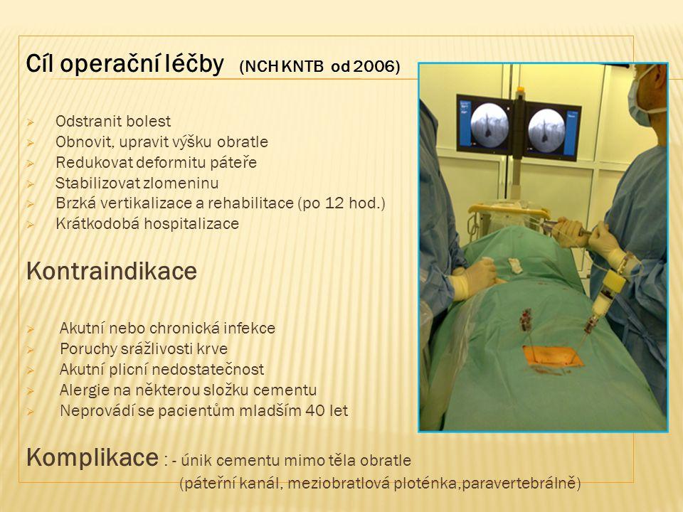 Cíl operační léčby (NCH KNTB od 2006)