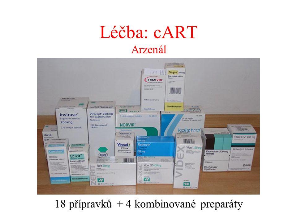 18 přípravků + 4 kombinované preparáty