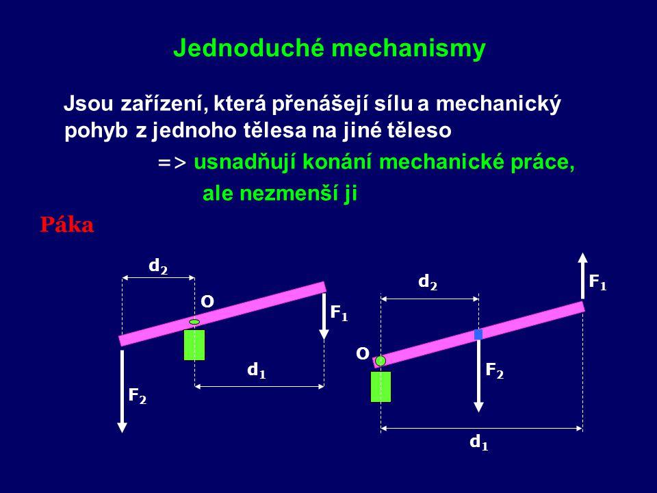 Jednoduché mechanismy