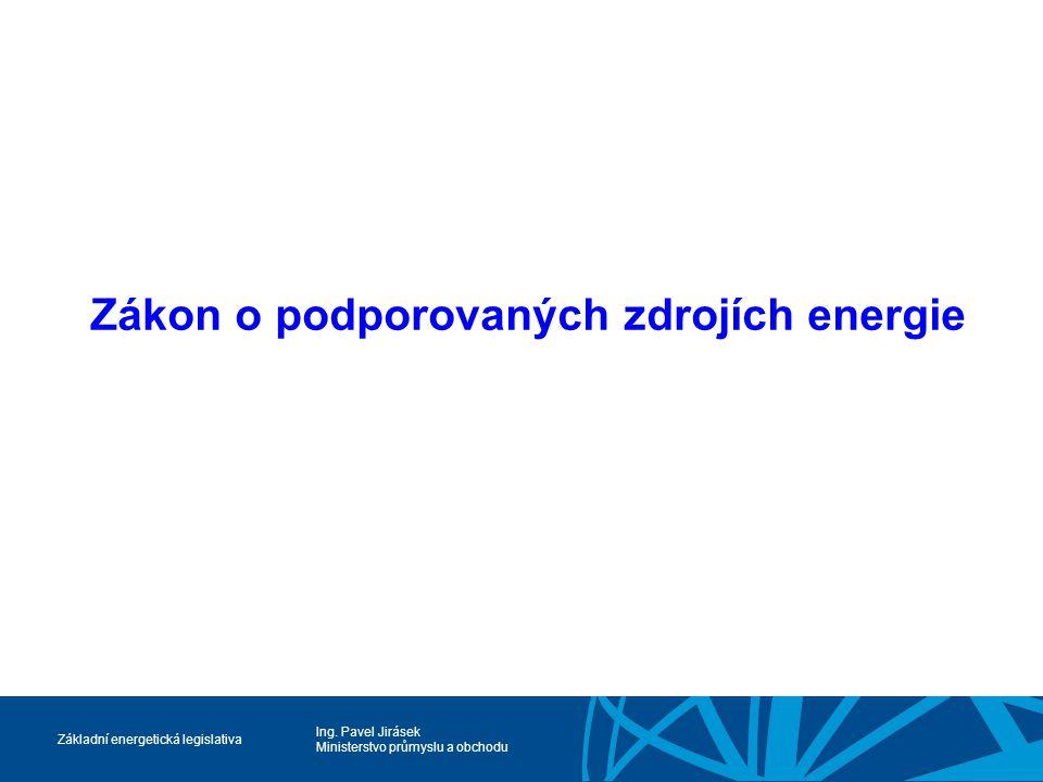 Zákon o podporovaných zdrojích energie