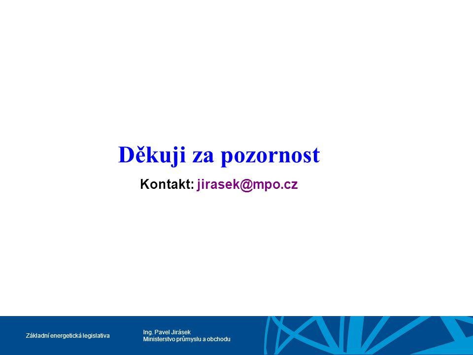 Kontakt: jirasek@mpo.cz