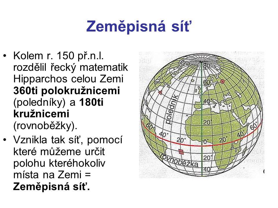 Zeměpisná síť