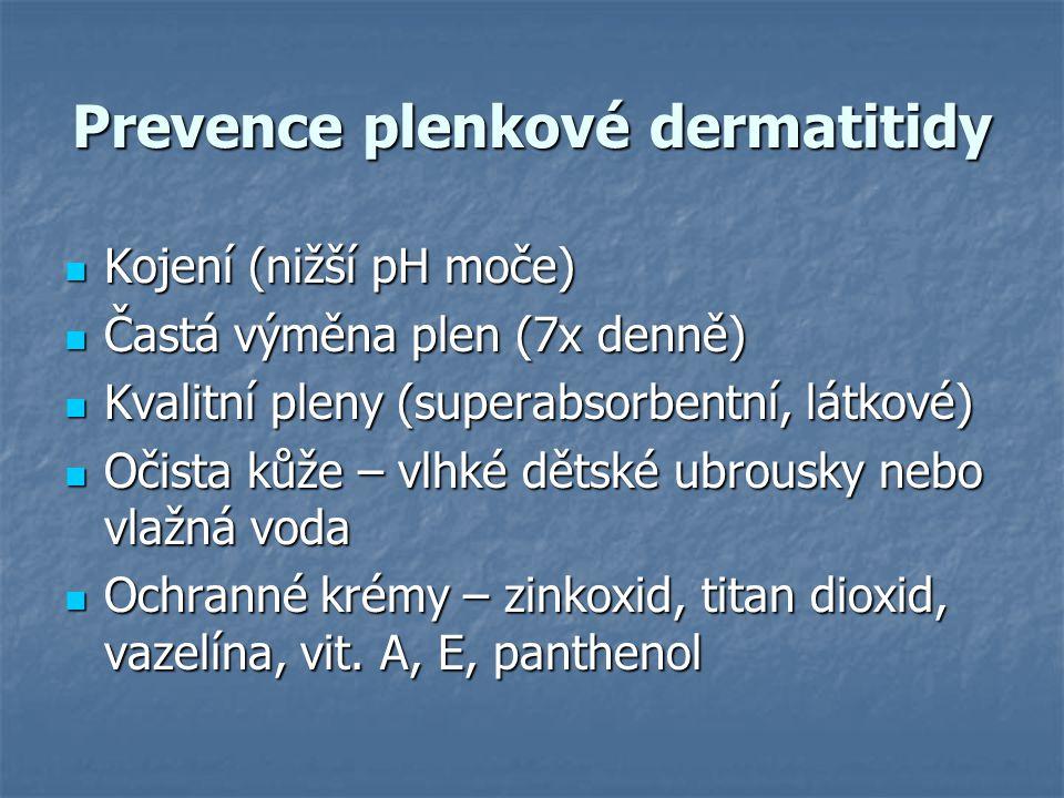 Prevence plenkové dermatitidy