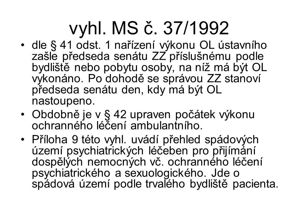 vyhl. MS č. 37/1992