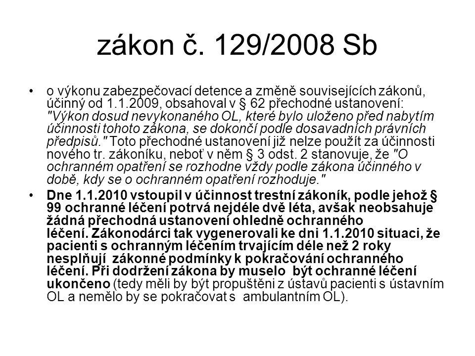 zákon č. 129/2008 Sb