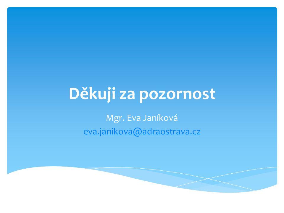 Mgr. Eva Janíková eva.janikova@adraostrava.cz