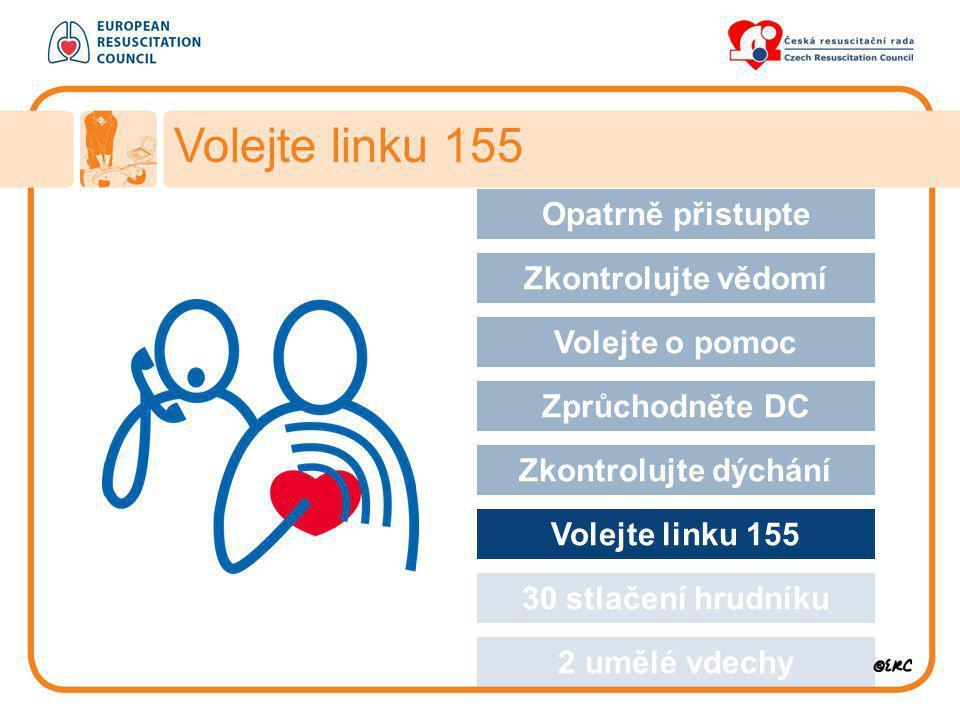 Volejte linku 155 Opatrně přistupte Approach safely