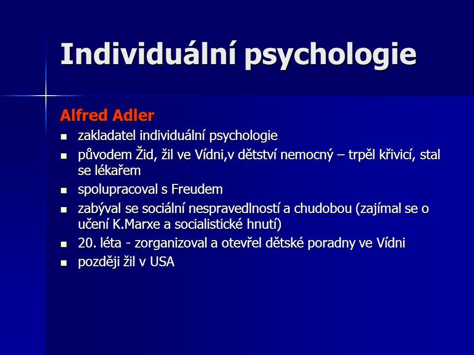 Individuální psychologie