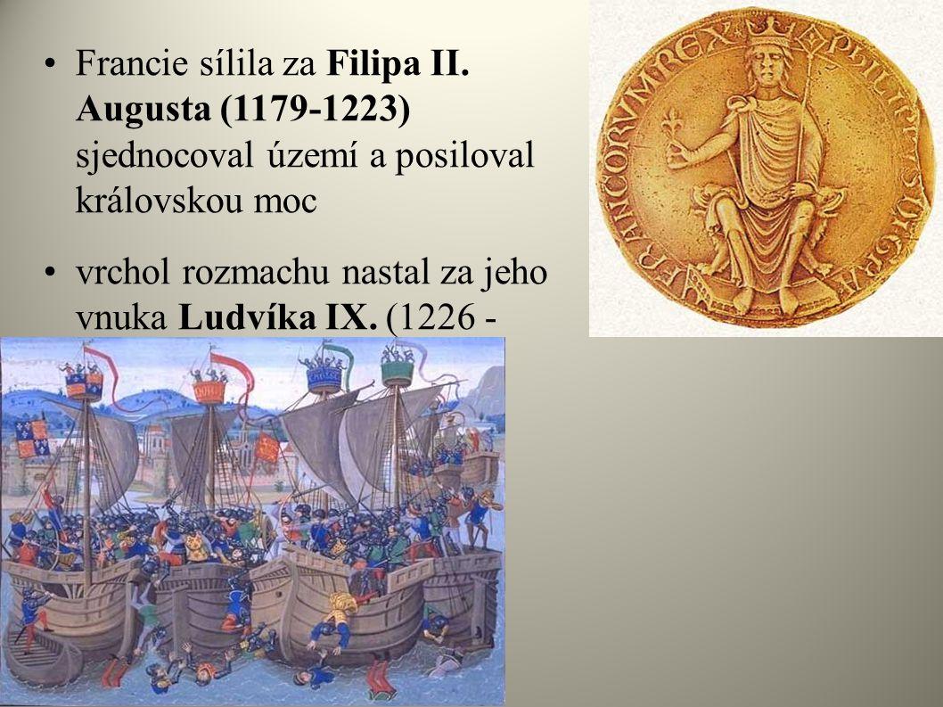 Francie sílila za Filipa II