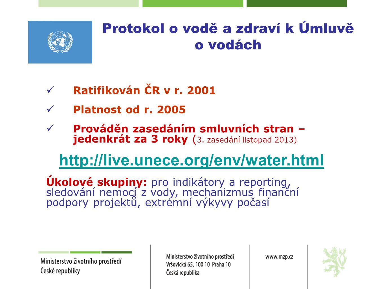 Protokol o vodě a zdraví k Úmluvě o vodách