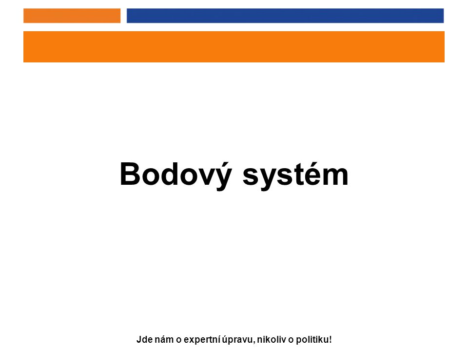 Bodový systém