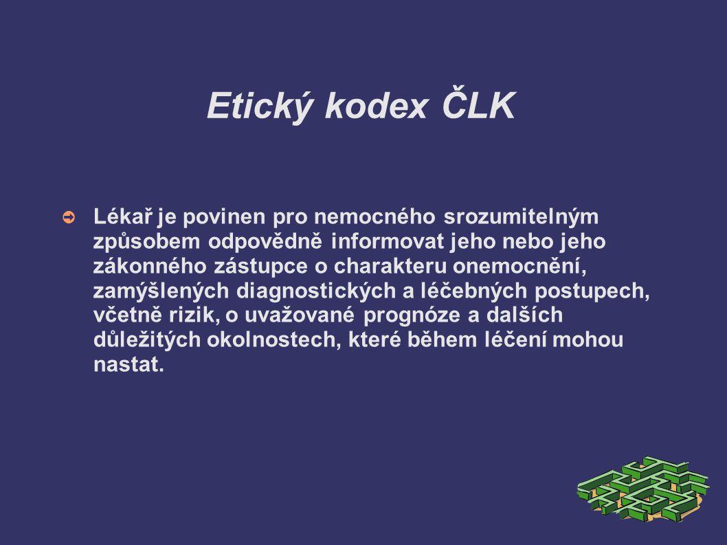 Etický kodex ČLK