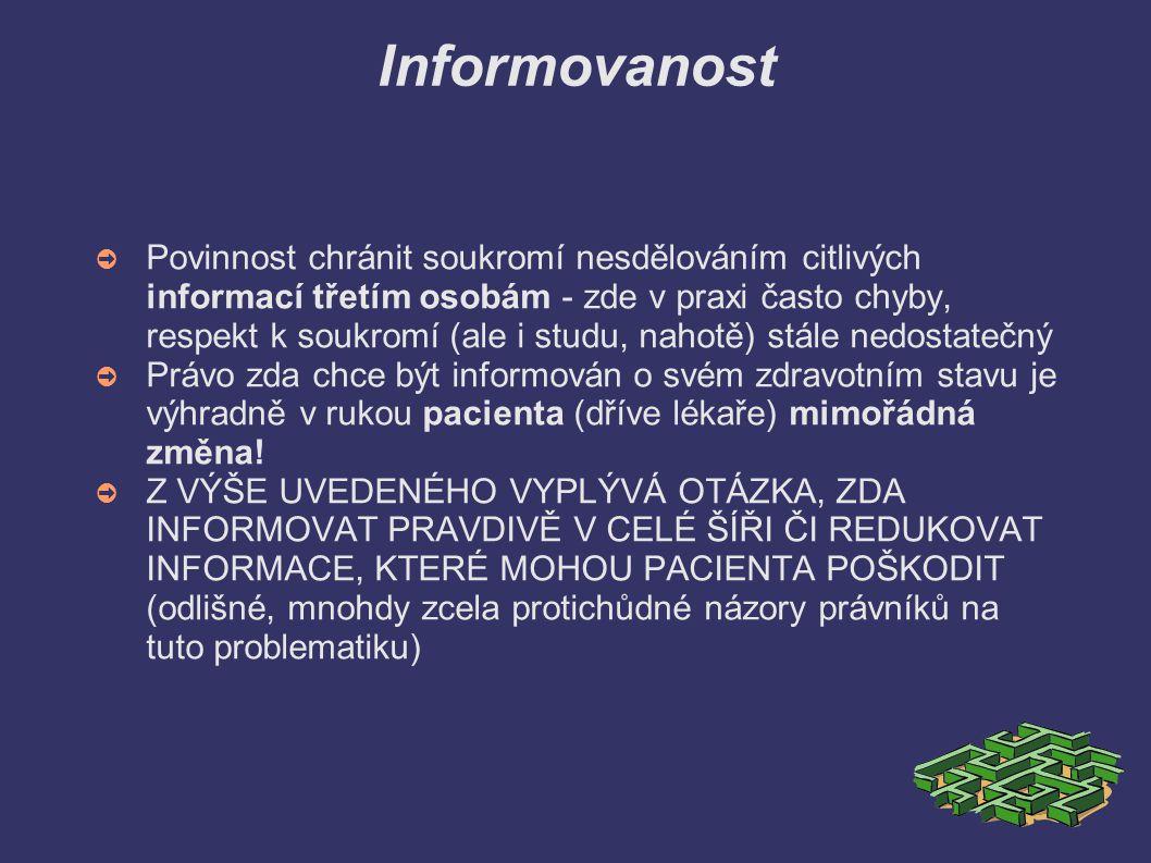 Informovanost