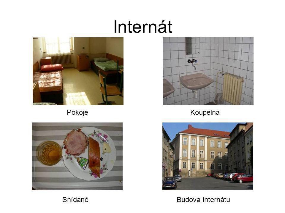 Internát Pokoje Koupelna Snídaně Budova internátu