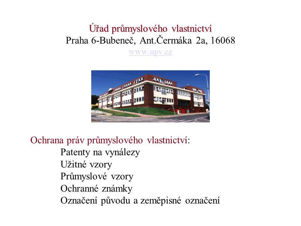 Úřad průmyslového vlastnictví Praha 6-Bubeneč, Ant