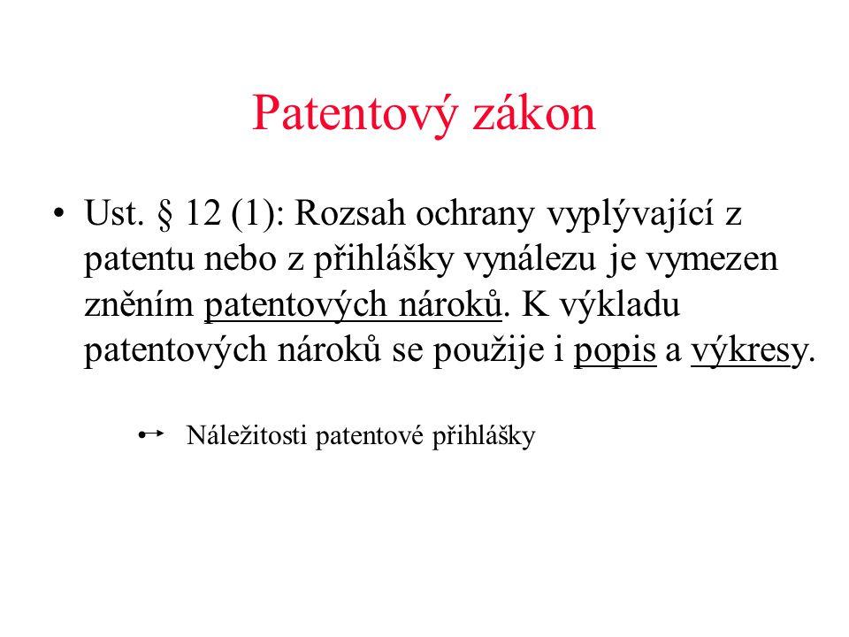 Patentový zákon