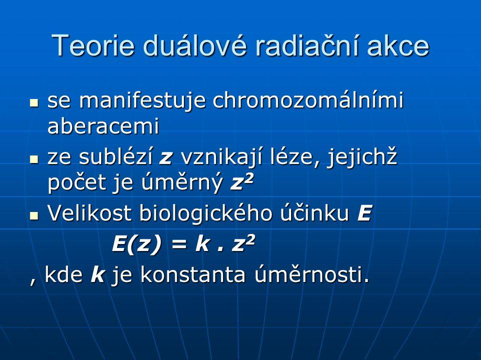 Teorie duálové radiační akce
