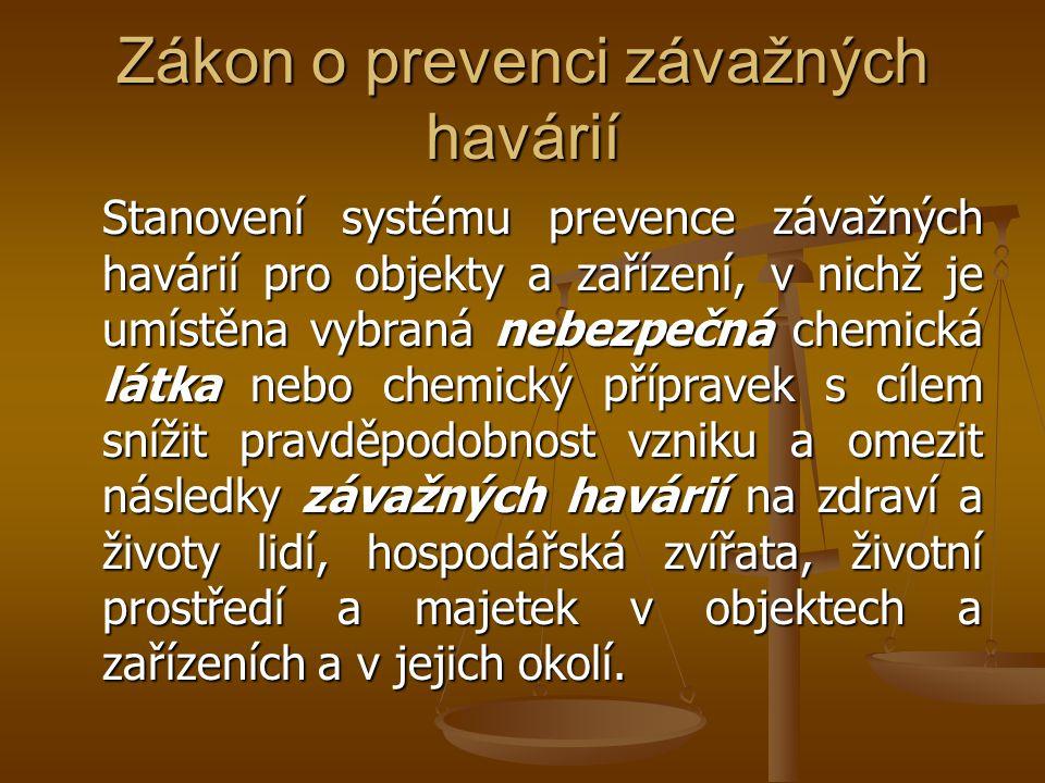 Zákon o prevenci závažných havárií