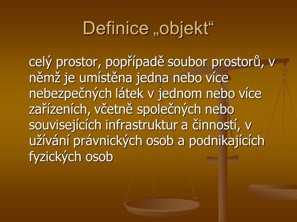 """Definice """"objekt"""