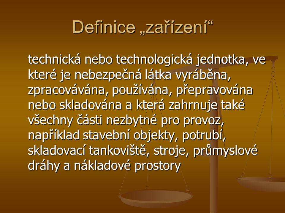 """Definice """"zařízení"""