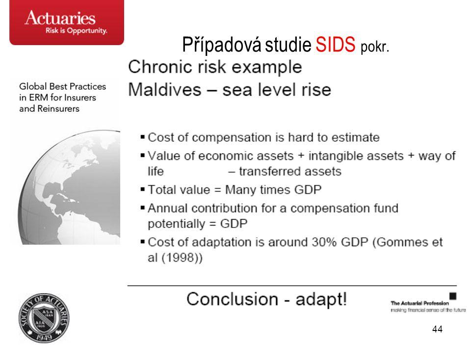 Případová studie SIDS pokr.