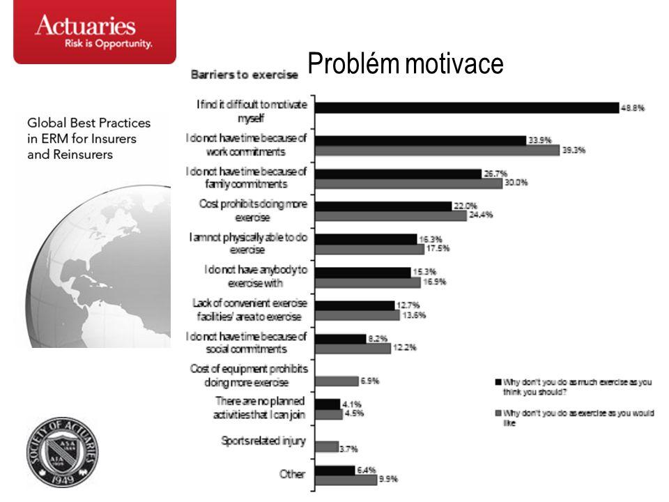 Problém motivace