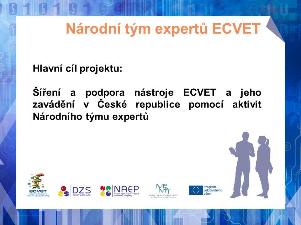 Národní tým expertů ECVET