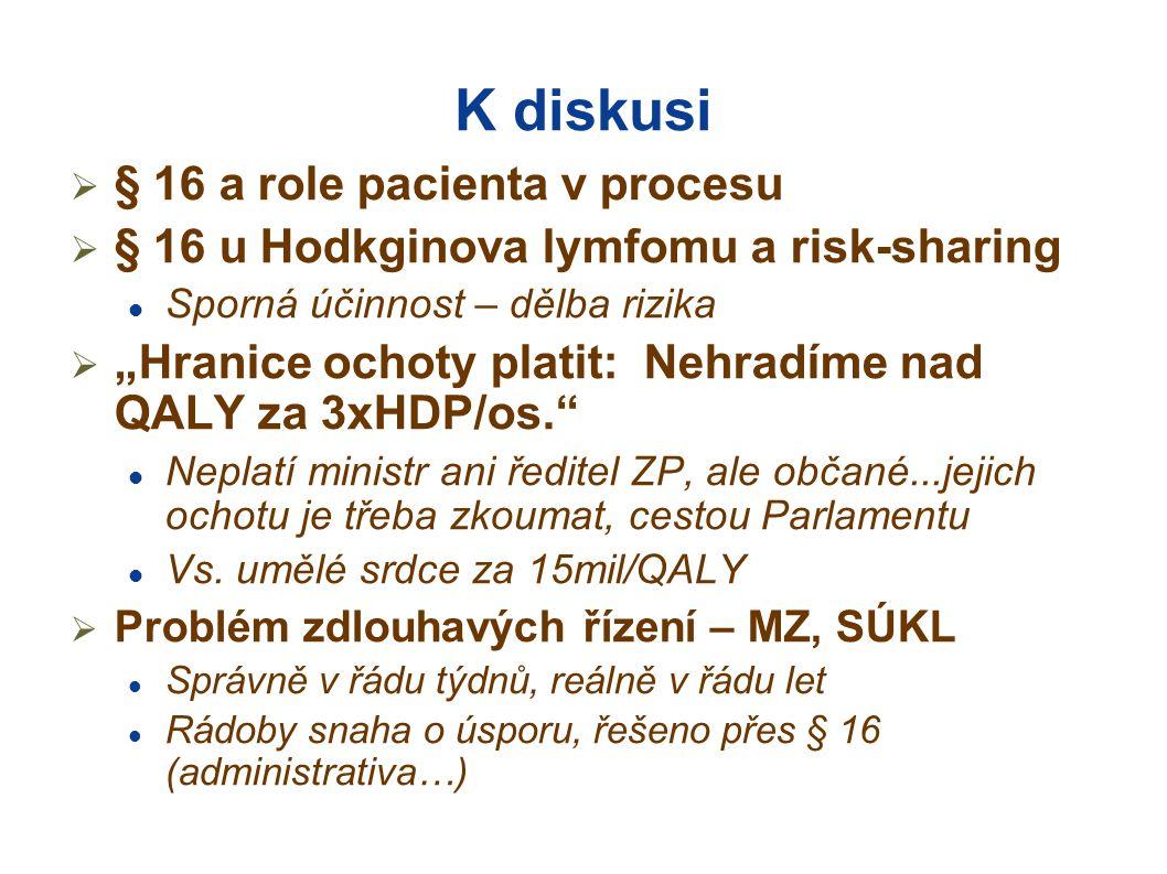 K diskusi § 16 a role pacienta v procesu