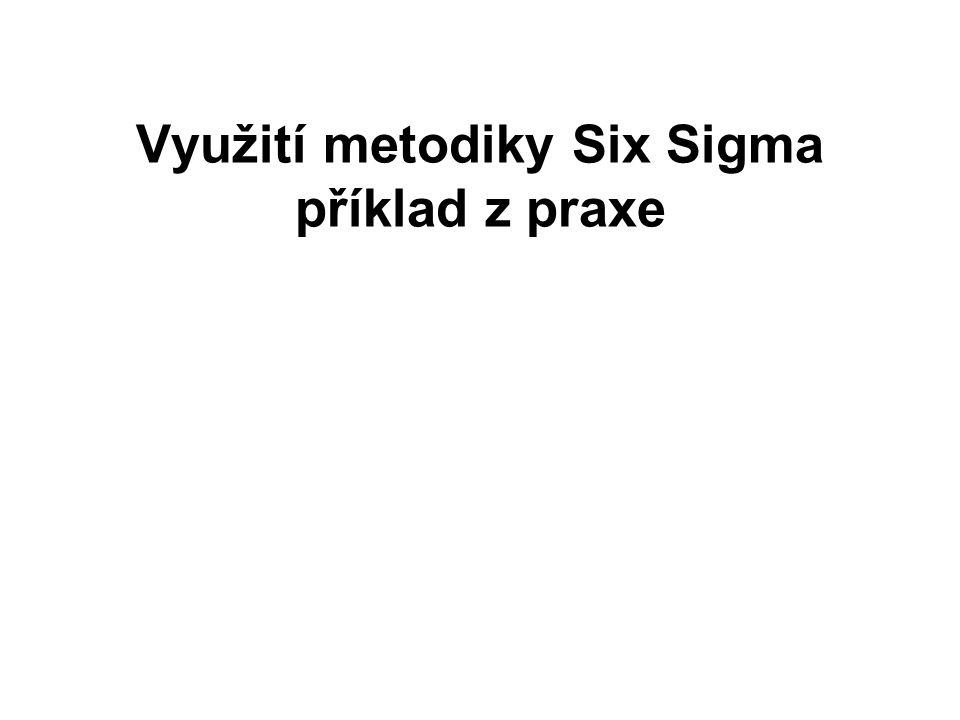 Využití metodiky Six Sigma příklad z praxe