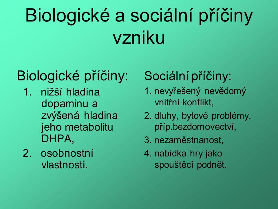 Biologické a sociální příčiny vzniku